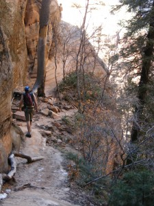 day hiking zions national park